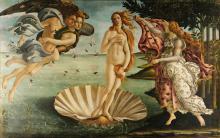 The Birth of Venus by Sandro Botticelli, circa 1486