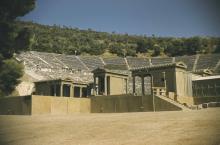 The Greek theatre at Epidaurus