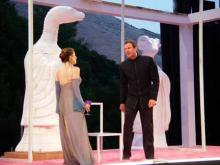 The Macbeths at the Bruns Theatre: California Shakespeare Theatre, 2002.