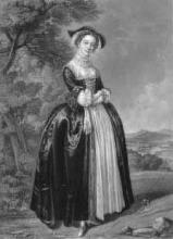The Merry Wives of Windsor, Peg Margaret Woffington (1714-1760) as Mistress Ford
