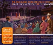 The Old Globe's Open-air Theatre at San Diego.