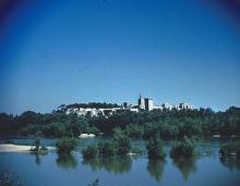 The Papal Palace at Avignon