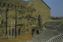The Roman Theatre at Orange (Provence, Southern France)