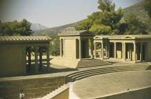 The stage at Epidaurus