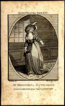 The Taming of the Shrew: Mrs. Mary Ann Wrighten as Katharina