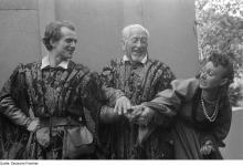 The Taming of the Shrew, Open-air Theatre, Schöneberg, Berlin, 1946