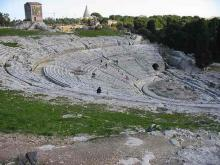 "Theatre at Syracuse, Sicily - ""Comedy of Errors"""