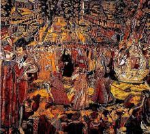 Valois Tapestry of a Court Festivity (1573)